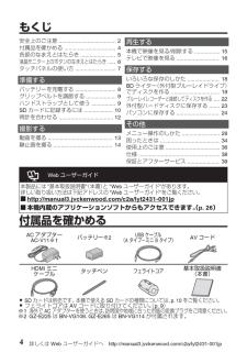 ビクター ビデオカメラの取扱説明書・マニュアル PDF ダウンロード [全40ページ 3.40MB]