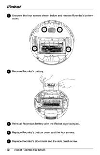 ルンバ577の取扱説明書・マニュアル PDF ダウンロード [全36ページ 4.66MB]