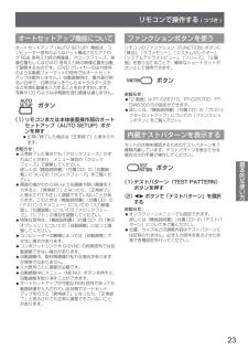 パナソニック プロジェクタの取扱説明書・マニュアル PDF ダウンロード [全44ページ 2.87MB]