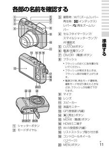 ソニー デジタルカメラの取扱説明書・マニュアル PDF ダウンロード [全128ページ 3.16MB]