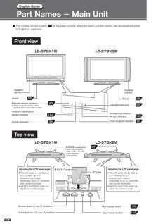LC-37GX1W (シャープ) の取扱説明書・マニュアル