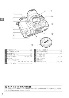 D7100の取扱説明書・マニュアル PDF ダウンロード [全408ページ 28.18MB]