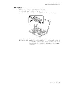 ThinkPad T60の取扱説明書・マニュアル PDF ダウンロード [全158ページ 3.40MB]
