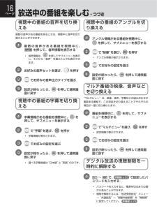 DBR-C100の取扱説明書・マニュアル PDF ダウンロード [全100ページ 3.63MB]