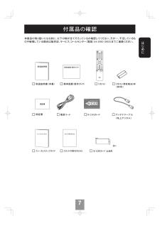 Coby 液晶テレビの取扱説明書・マニュアル PDF ダウンロード [全64ページ 9.40MB]