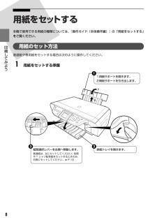 PIXUS MP460の取扱説明書・マニュアル PDF ダウンロード [全58ページ 6.26MB]