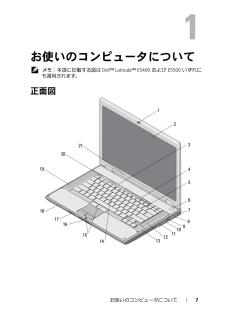 Latitude E5500の取扱説明書・マニュアル PDF ダウンロード [全72ページ 4.02MB]