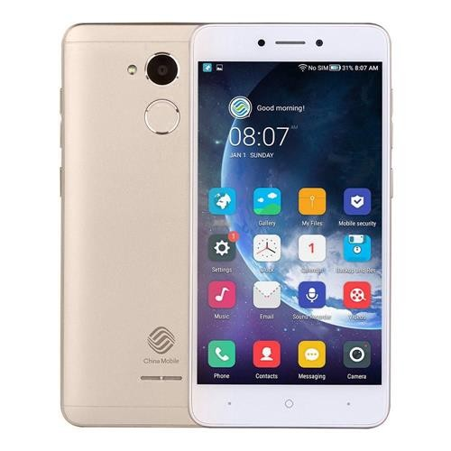 China Mobile A3s 5.2 Inch 2GB 16GB Smartphone Gold