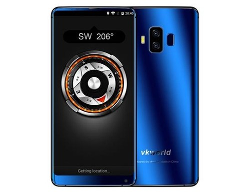 VKworld S8 5.99Inch MTK6750T,Mobile Phone Blue