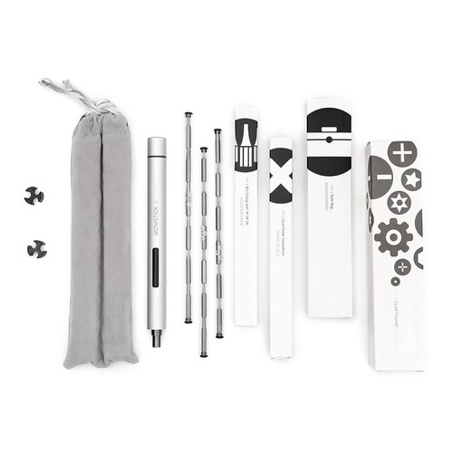 XIAOMI Wowstick 1P+ 19 In 1 Electric Screw Driver Cordless Power Screwdriver - Gray