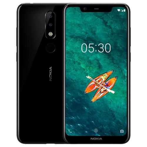 Global ROM Nokia X5 5.86 Inch 3GB 32GB Smartphone Black