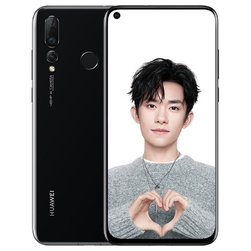 HUAWEI Nova 4 6.4 Inch 8GB 128GB 48.0MP Camera Smartphone Black