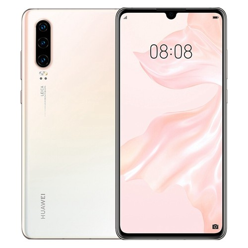 HUAWEI P30 6.1 Inch 4G LTE Smartphone Kirin 980 8GB 64GB 40.0MP+16.0MP+8.0MP Triple Rear Cameras Android 9.0 NFC In-display Fingerprint Fast Charge - Pearl White