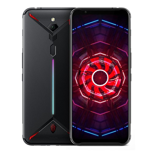 Nubia Red Magic 3 6.65 Inch 4G LTE Gaming Smartphone Snapdragon 855 8GB 128GB 48.0MP Rear Camera Android 9 Touch ID Fast Charge - Black