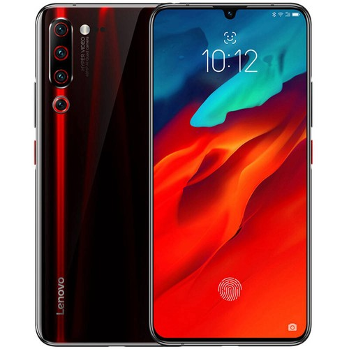 Lenovo Z6 Pro 6.39 Inch 4G LTE Smartphone Snapdragon 855 8GB 128GB 48.0MP+16.0MP+8.0MP+2.0MP Quad Rear Cameras ZUI 11 In-display Fingerprint - Black