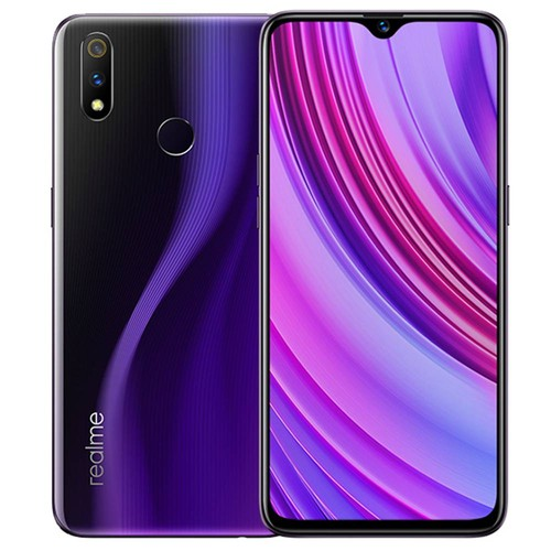Realme X Lite 6.3 Inch 4G LTE Smartphone Snapdragon 710 4GB 64GB 16.0MP + 5.0MP Dual Rear Cameras Android 9 Touch ID Fast Charging - Purple