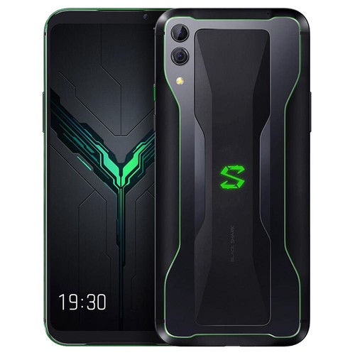 Xiaomi Black Shark 2 6.39 Inch 4G LTE Gaming Smartphone Snapdragon 855 12GB 256GB 48.0MP+12.0MP Dual Rear Cameras Android 8.1 In-display Fingerprint Quick Charging Global Version - Black