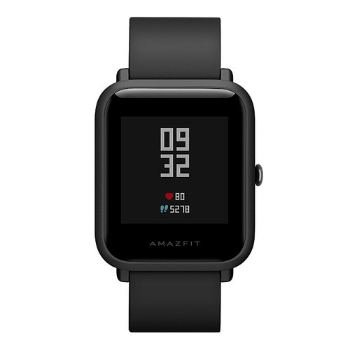 Huami Amazfit Bip Lite Smart Sports Watch 3ATM Water Resistant 45 Days Standby 1.28 Inch Touch Screen Bluetooth 4.1 Heart Rate Monitor - Black