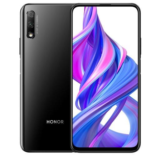 HUAWEI Honor 9X CN Version 6.59 Inch 2340*1080P Screen 4G LTE Smartphone Hisilicon Kirin 810 6GB 128GB 48.0MP + 2.0MP Dual Rear Cameras Android 9.0 Dual SIM - Black