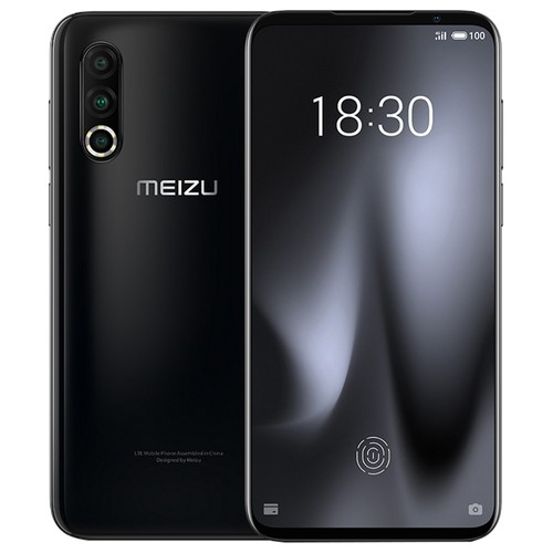 Meizu 16S Pro 6.2 Inch 4G LTE Smartphone Snapdragon 855 Plus 6GB 128GB 48.0MP+20.0MP+16.0MP Triple Rear Cameras NFC Fingerprint ID Dual SIM Android 9.0 - Black