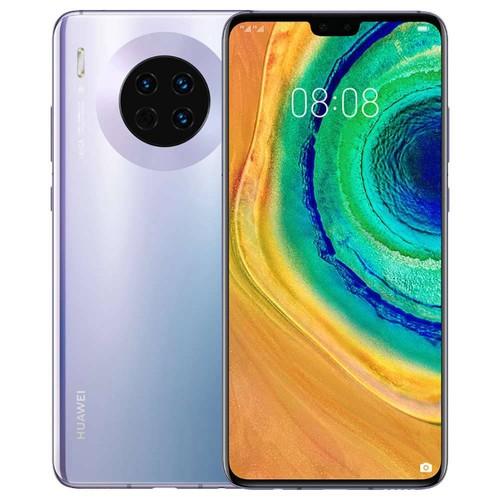HUAWEI Mate 30 6.62 Inch 5G LTE Smartphone Kirin 990 8GB 256GB 40.0MP+16.0MP+8.0MP Triple Leica Rear Cameras NFC Fingerprint ID Dual SIM Android 10.0 - Space Silver