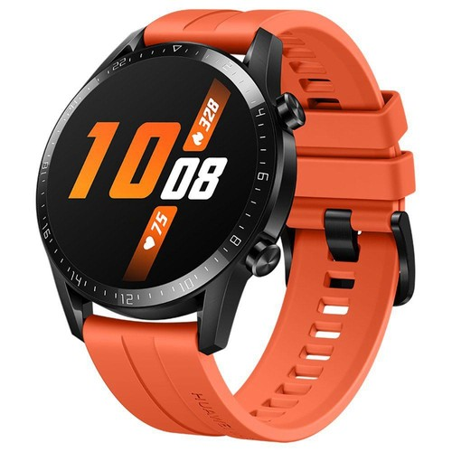 Huawei Watch GT 2 Sports Smart Watch 1.39 Inch AMOLED Colorful Screen Built-in GPS Heart Rate Oxygen Monitor 46mm - Orange
