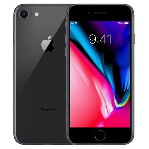 """Apple iPhone 8 64GB Unlocked Gray 4.7"""" Retina Display, Touch ID - Used (Item Condition - 99% New)"""