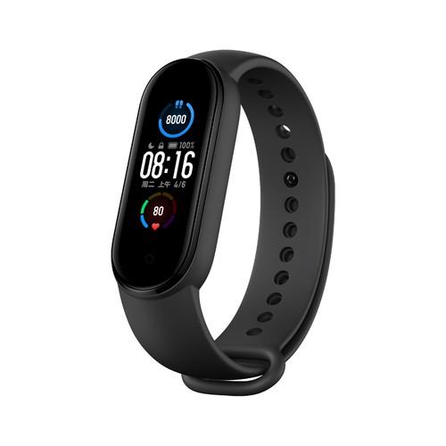 Xiaomi Mi Band 5 Smart Bracelet Bluetooth 5.0 Sports Fitness Tracker Chinese Version - Black