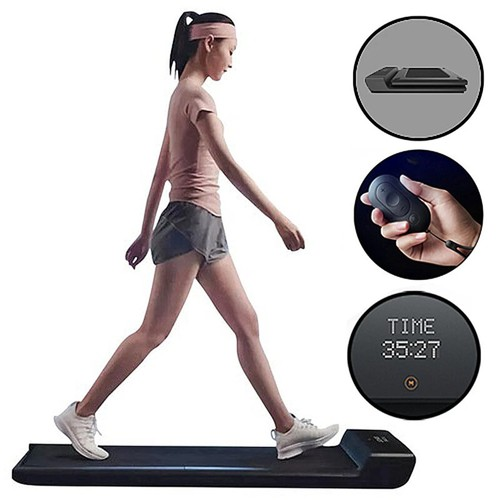 WalkingPad A1 Pro Walking Pad Smart Treadmill for Workout, Fitness Training Gym Equipment, Exercise Indoor & Outdoor with Manual and Automatic Mode, Remote Control, LED Display, Intelligent App Control, 100kg Load Capacity by Xiaomi - EU Version