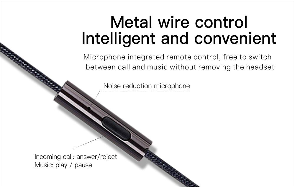 Wired Earphone Black