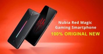 Global Version Nubia Red Magic NX609J 8GB 128GB Smartphone Black