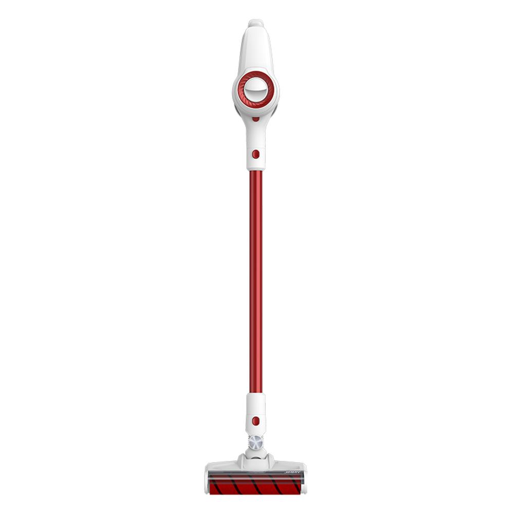 Xiaomi JIMMY JV51 Lightweight Cordless Stick Vacuum Cleaner 115AW Powerful Suction Anti-winding Hair Mite Cleaning Vacuum Cleaner EU Plug - Red