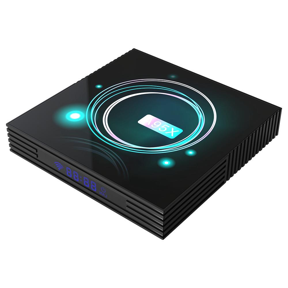 A95X F3 Slim Amlogic S905x3 Android 9.0 8K Video Decode TV Box 4GB/32GB USB3.0 2.4G+5G MIMO WiFi Bluetooth LAN 4K Youtube