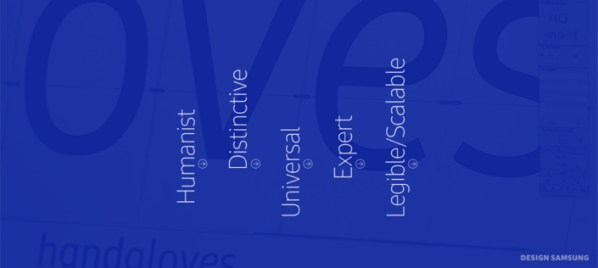 SamsungOne Typeface_Main_2