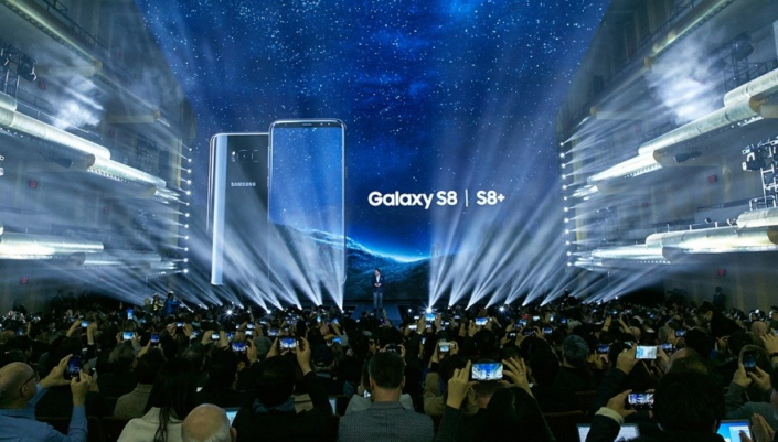 Samsung keynote for S8 and S8+