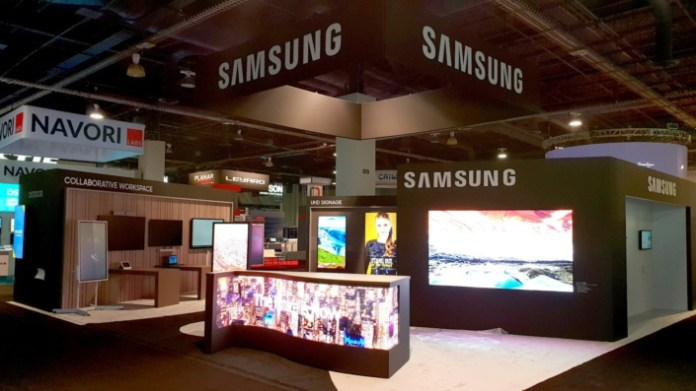 Samsung's Interactive Display Solutions Take Center Stage ...