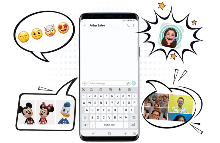 Learn More About Samsung's New AR Emojis for Galaxy S9/S9+