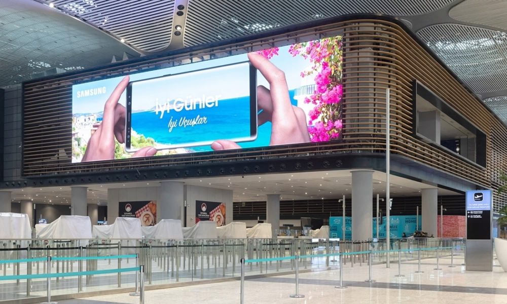 Samsung Electronics Installs The World S Largest Indoor