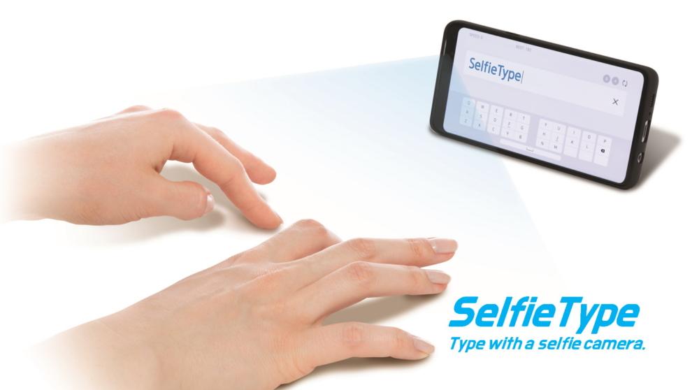 C Lab at CES2020 main SelfieType - ابتكارات سامسونج وتقنيات جديدة تستعرضها بمعرض الإلكترونيات الاستهلاكية CES 2020