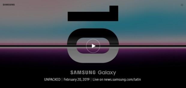 Transmisión completa de Galaxy Unpacked 2019