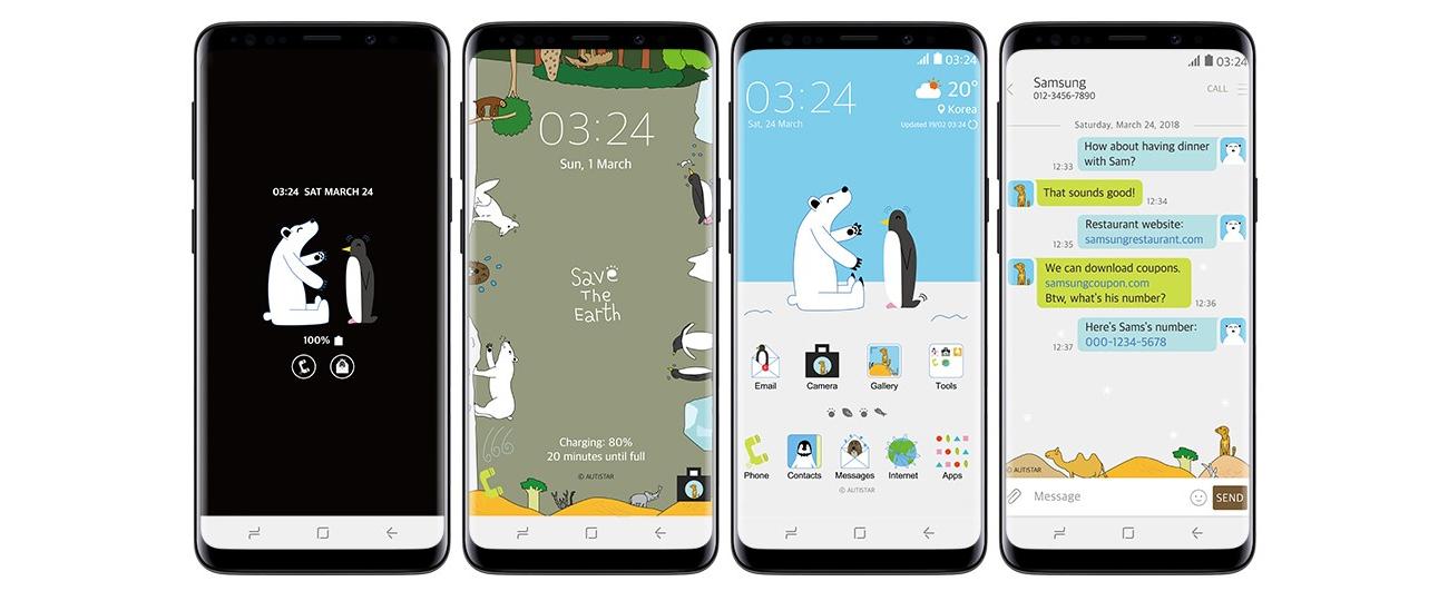 Galaxy指南#1:以Samsung Themes 讓手機展盡顯個人風采 – Samsung Newsroom 臺灣