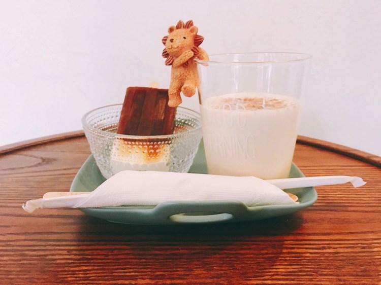 1/2 CAFE 》台北南京三民捷運站咖啡輕食店 | 雪糕冰拿鐵