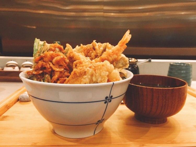 KICHI 吉天婦羅 》 忠孝復興捷運站美食  | SOGO 日本料理餐廳