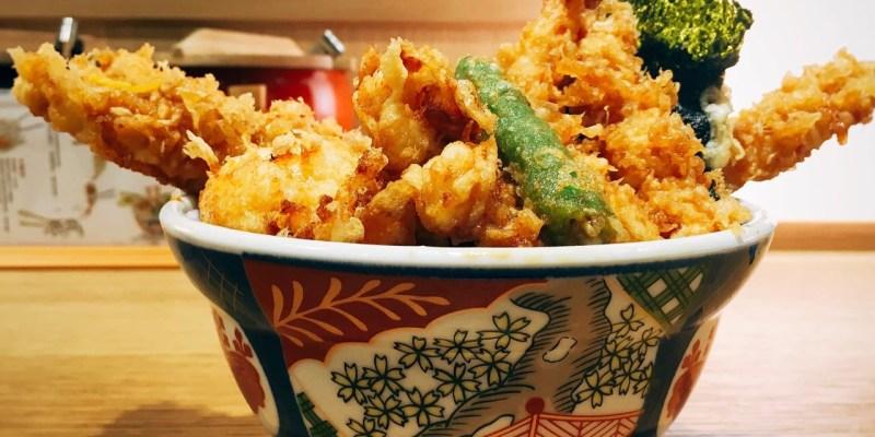 金子半之助 》 信義新光三越A8美食    台北日本天丼料理