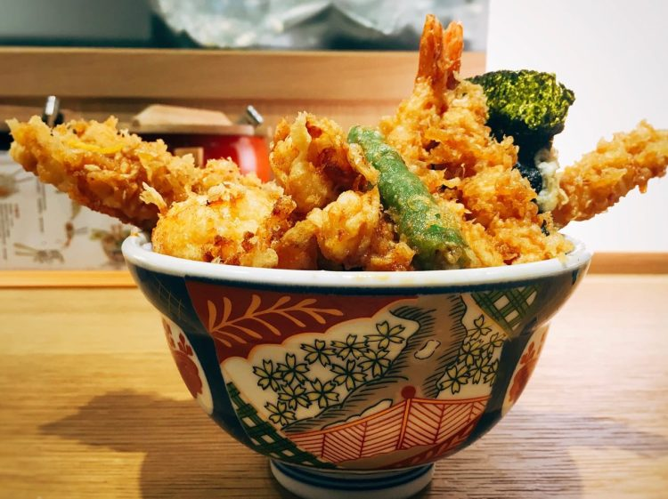 金子半之助 》 信義新光三越A8美食  | 台北日本天丼料理