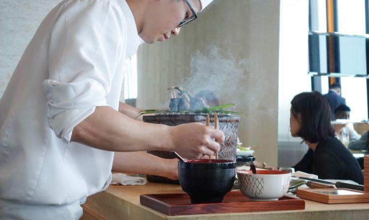 The Ukai Taipei  》在微風南山 46 樓美食餐廳品嚐日式割烹料理
