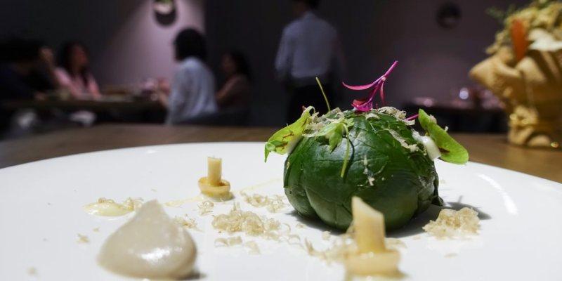 Verde Taipei 》2019 米其林餐盤餐廳之蔬食饗宴