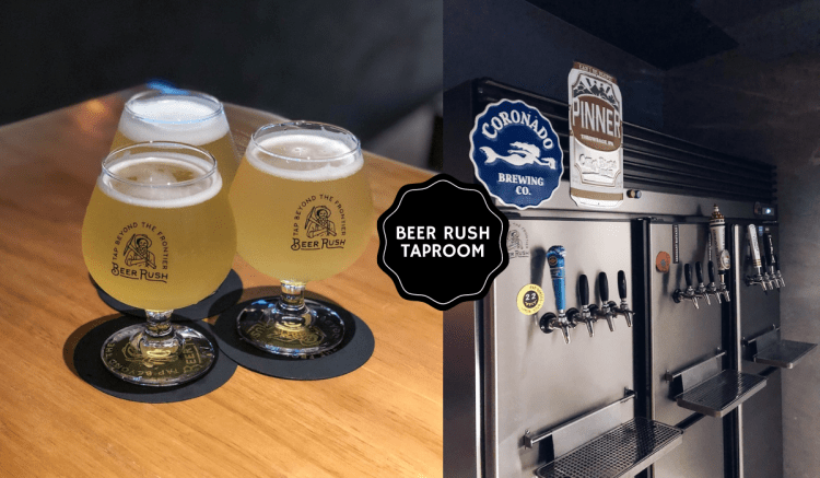 Beer Rush Taproom 》下午 Happy Hour 在台北東區精釀酒吧喝啤酒配食物