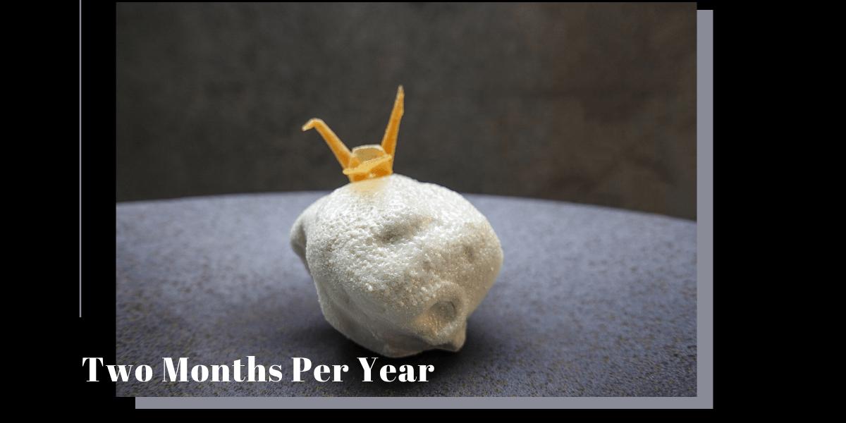 Two Months Per Year 》計畫 N 訪具有藝術美感的台北甜點蛋糕推薦