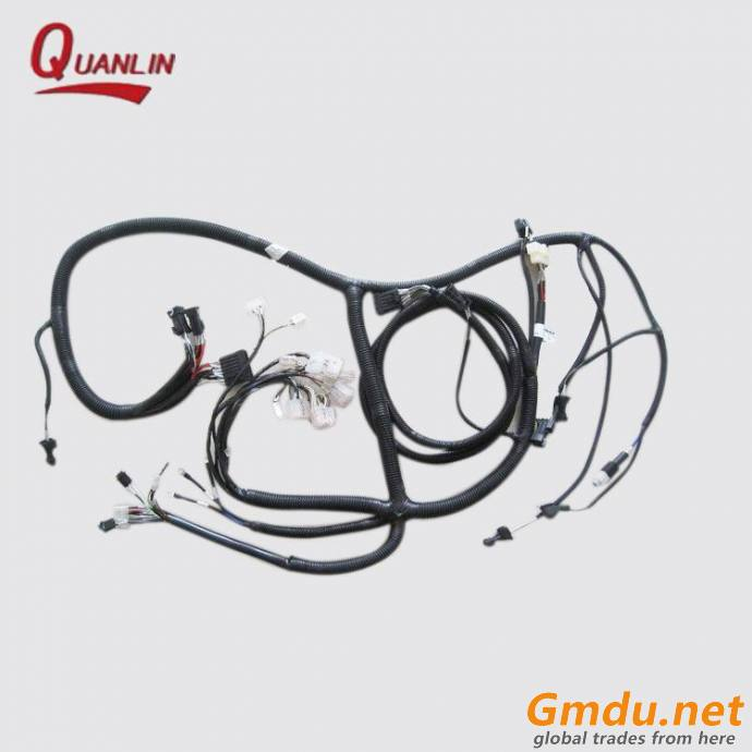 OEM excavator spare parts engine wire harness for digger